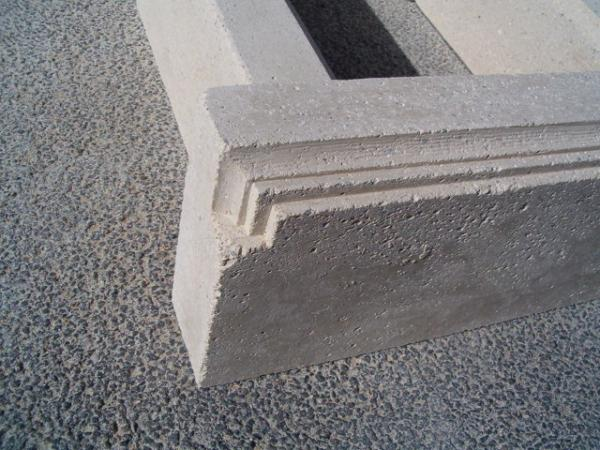 cr ation d 39 une niche en pierre reconstitu e calcaire. Black Bedroom Furniture Sets. Home Design Ideas