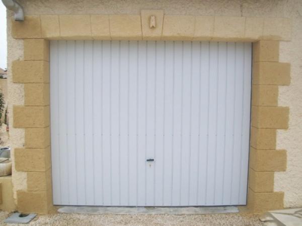 Encadrement de portail en mortier projet - Contour de porte exterieur ...