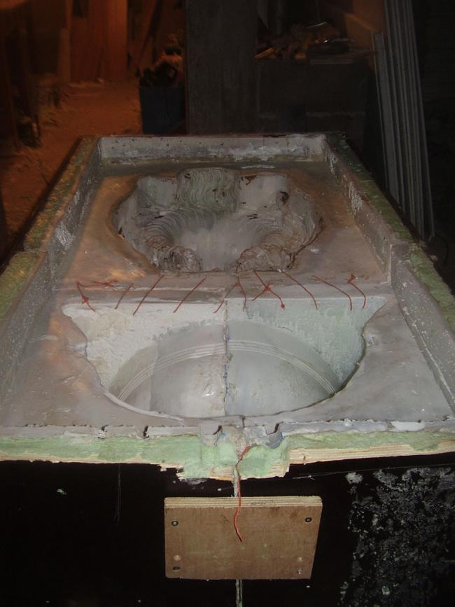 (5)Le moule en siliconne